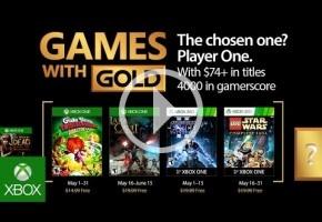 Mucho sable láser en los Juegos con Gold de mayo