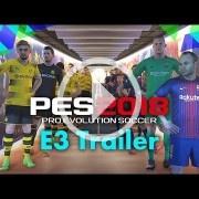 E3 2017: Tráiler de PES 2018