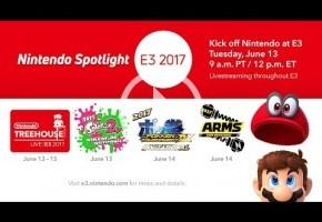E3 2017 en directo: Nintendo Spotlight