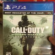 Call of Duty: Modern Warfare Remastered se publicará en caja el 27 de junio