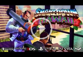 Crimen, violencia y fitness en el nuevo tráiler de Shakedown Hawaii