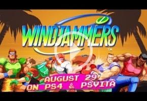 Windjammers estará disponible en PS4 y Vita el 29 de agosto