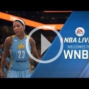 NBA Live 18 incluirá a los equipos y jugadoras de la WNBA