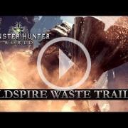 El tráiler de Monster Hunter: World ya es otra cosa