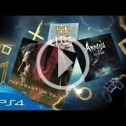 Metal Gear Solid V y Amnesia: Collection son los juegos de octubre en PSN Plus