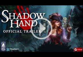 Shadowhand mezcla solitario, combate táctico por turnos y nobleza dieciochesca