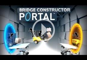 Bridge Constructor Portal es, efectivamente, un nuevo Portal