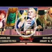La tercera temporada de Street Fighter V trae de vuelta a Sakura, Blanka, Cody y Sagat