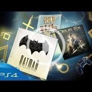 Deus Ex: Mankind Divided y el Batman de Telltale lideran los juegos del Plus de enero