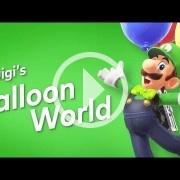 Luigi's Balloon World es el primer DLC gratuito de Super Mario Odyssey