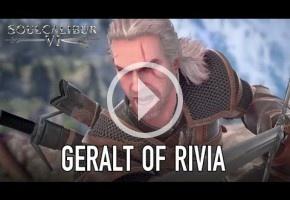 Geralt de Rivia es, efectivamente, el luchador invitado en SoulCalibur VI