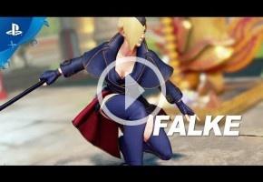 Falke es la nueva luchadora de Street Fighter V