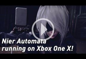 Gameplay 4K de NieR Automata en Xbox One X