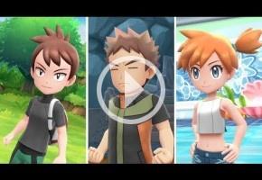 El nuevo trailer de Pokémon Let's Go presenta muchas de sus funcionalidades