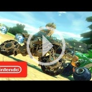 El Link de Breath of the Wild se suma al plantel de Mario Kart 8 Deluxe