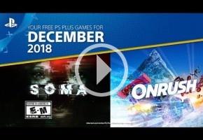 SOMA y Onrush son los juegos de diciembre en PlayStation Plus