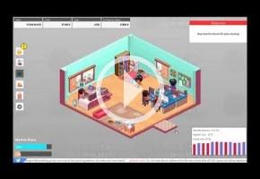 El simulador de gestión de empresas Startup Panic lanza una demo