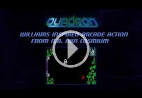 Quadron llega a itch.io 30 años después de su cancelación en ZX Spectrum