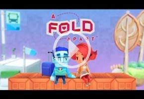 A Fold Apart es un juego de puzzles sobre las dificultades de una relación a distancia
