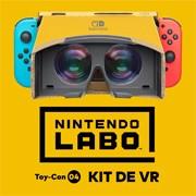 Nintendo se sube al carro de la realidad virtual con Labo VR