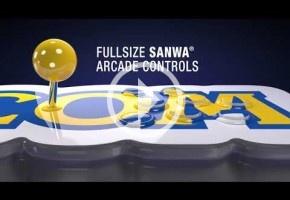 Capcom Home Arcade es una recreativa de sobremesa con 16 juegos clásicos