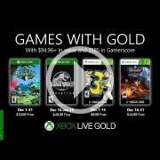 Los Juegos con Gold de diciembre son Insane Robots y Jurassic World: Evolution