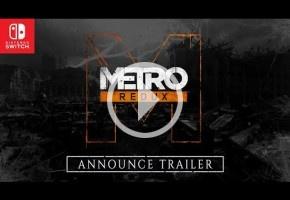 Metro Redux llegará a Switch el 28 de febrero