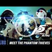Persona 5 Royal presenta a los Phantom Thieves en un nuevo tráiler