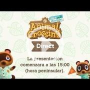 A las 15:00h - Sigue con nosotros el Nintendo Direct de Animal Crossing: New Horizons