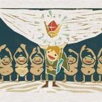 Ocarina of Time, reinterpretado en dibujos