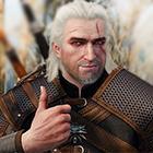 El brujo de pelos blancos