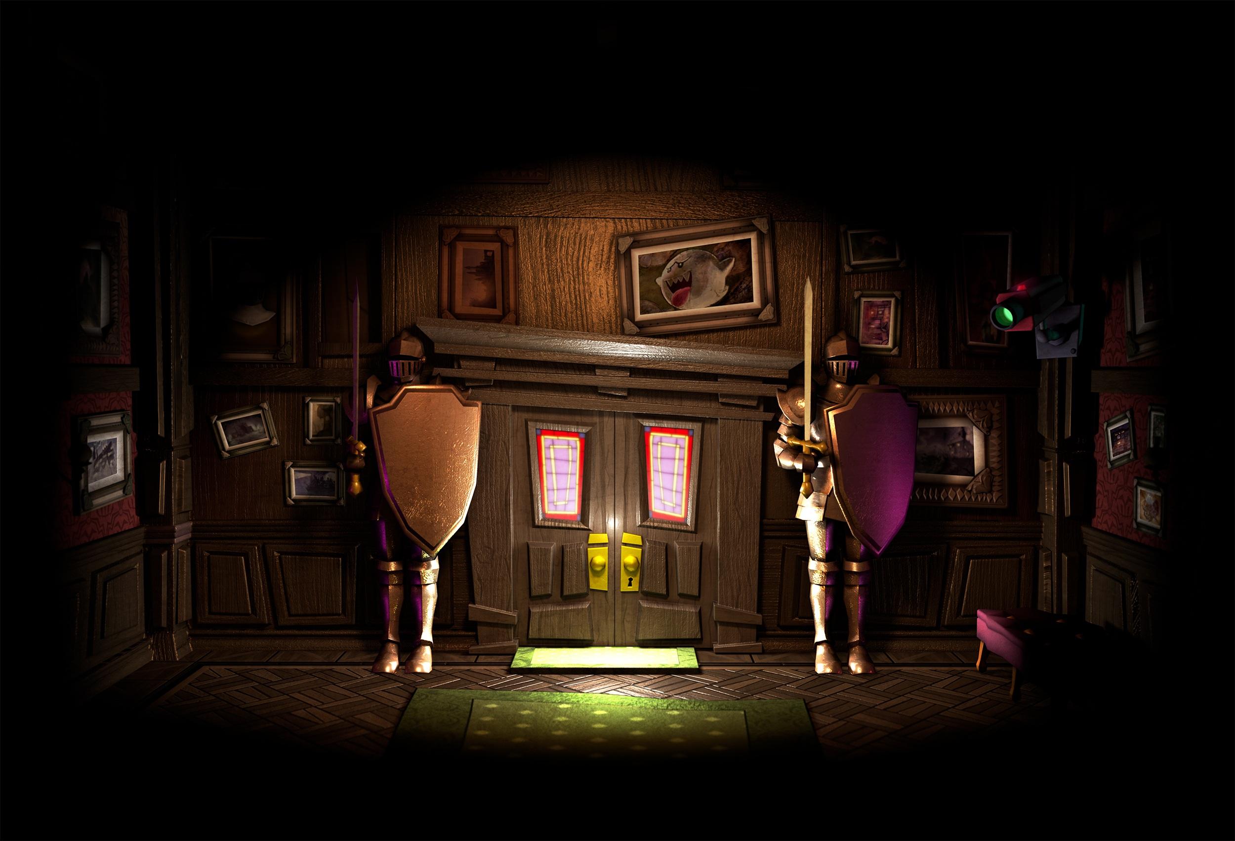 Nuevas Im 225 Genes Y Portada De Luigi S Mansion Dark Moon