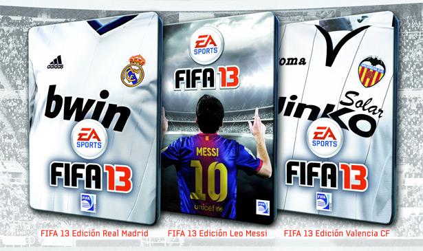 La ediciones especiales de FIFA 13 Fifa-13-equipos