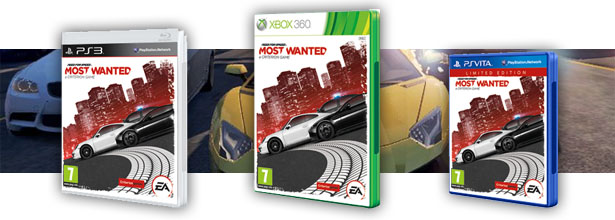 Sorteamos tres copias de Need For Speed: Most Wanted