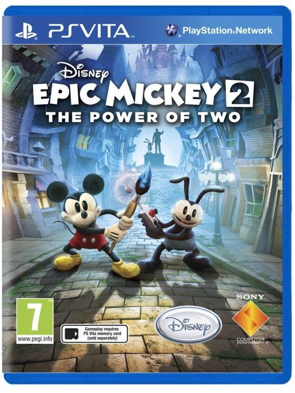 Epic Mickey 2 también llegará a Vita