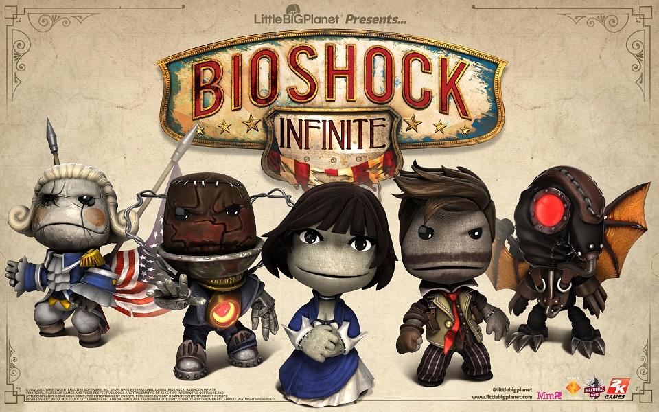 Los sackboys de BioShock Infinite le alegran a uno la existencia