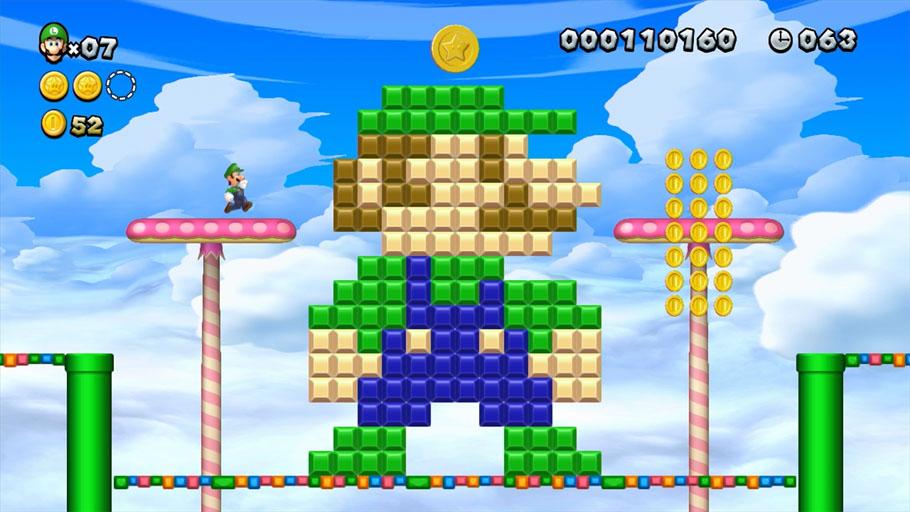 New Super Luigi U es difícil, pero también tímido