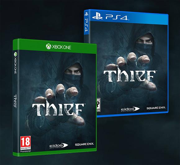 Thief ya tiene portada y nueva fecha de salida