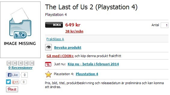 pris playstation 4