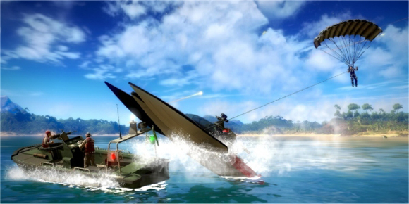 Habrá mod multijugador de Just Cause 2 en Steam