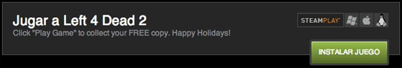 Valve regala Left 4 Dead 2 en Steam