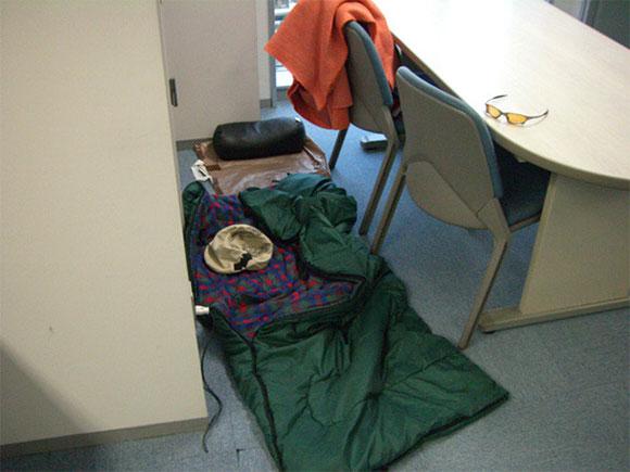 Aquí dormía Kamiya durante el desarrollo de The Wonderful 101