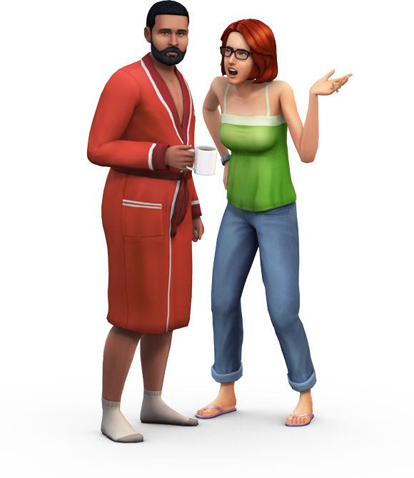 Pancake Bob, el mejor personaje de Los Sims 4