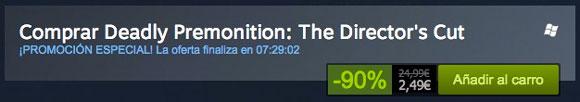 Por tiempo limitado, Deadly Premotion en Steam por 2,5€
