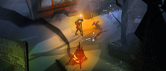 The Flame in the Flood, otro proyecto de los creadores de BioShock y Halo