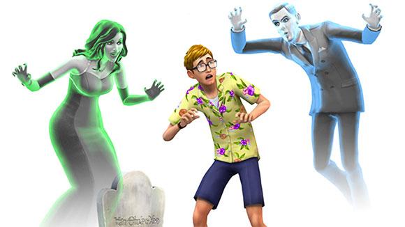 Piscinas, fantasmas y trabajos llegan, gratis, a Los Sims 4