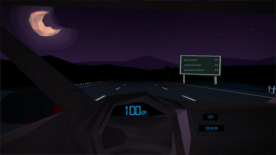 Glitchhikers, conversaciones extrañas en una carretera oscura