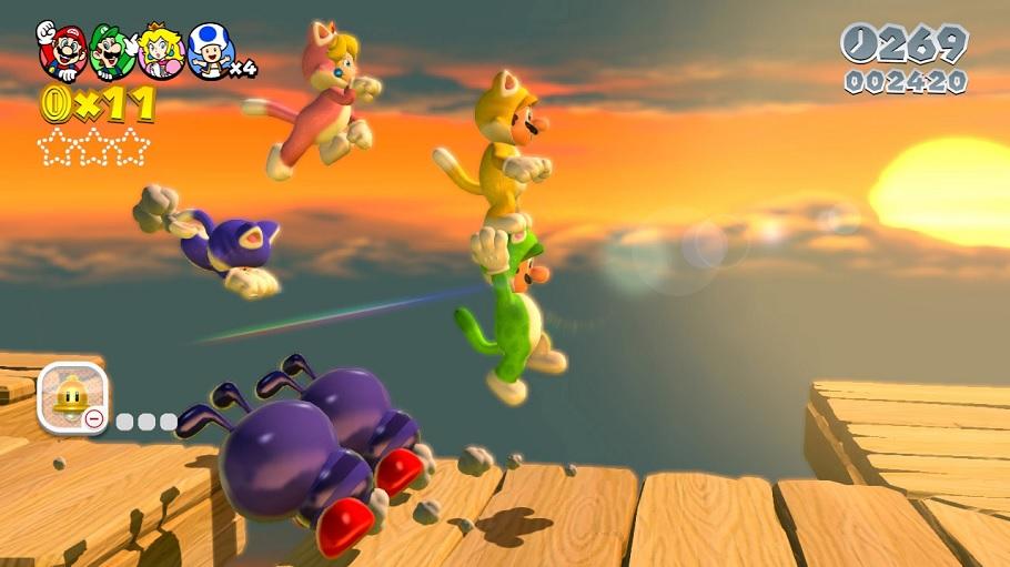 Multijugador Liquido Super Mario 3d World Articulo En Anaitgames