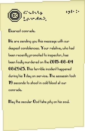 Iron Sunset: Que el Dios secular se apiade de tu alma