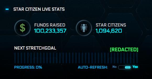 Star Citizen rebasa los 100 millones de dólares en micromecenazgo